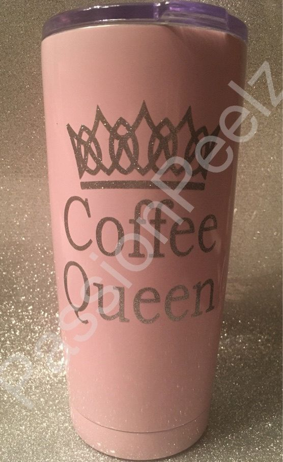 Coffee queen tumbler decalyeti decalmug decalsticker 20oz yeti