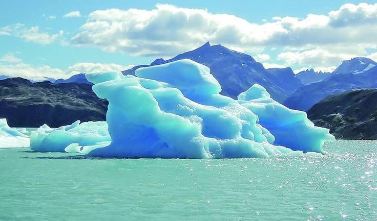 Los hielos eternos del sur argentino