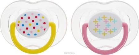 """Philips Avent Пустышка силиконовая ортодонтическая Freeflow цвет желтый розовый от 6 до18 месяцев 2 шт SCF180/24  — 709р.  Ортодонтическая силиконовая пустышка Philips Avent """"Freeflow"""" имеет шесть отверстий в ободке для большего комфорта для чувствительной кожи. Силикон не обладает вкусом и запахом, что делает этот материал наиболее приемлемым для младенца. Пустышка помогает удовлетворить естественную потребность в сосании, а также тренирует мышцы губ, языка и челюсти, что играет важную роль…"""