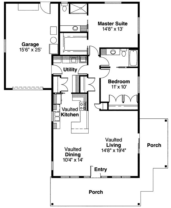 608 best house plans images on pinterest house floor plans House Plans Designs Bungalow first floor plan of bungalow craftsman house plan 69667 small bungalow house plans designs