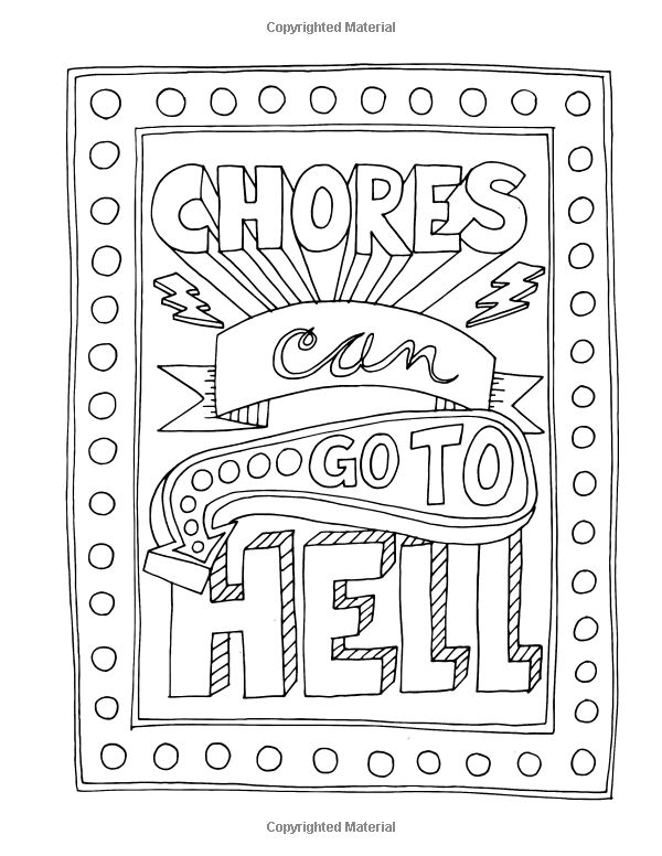amazoncom make life your bitch a motivational inspirational adult coloring book - Turn Pictures Coloring Pages
