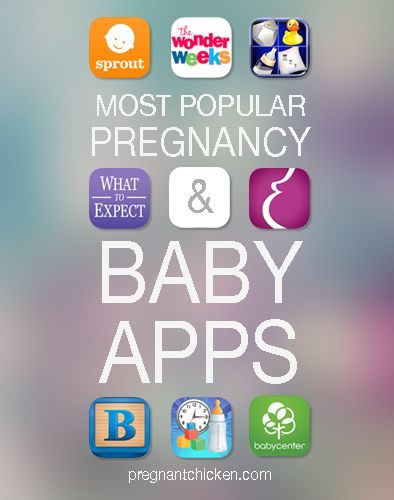 Most Popular Pregnancy  Baby Apps!