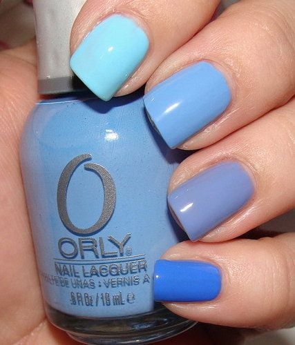 1000+ Ideas About Blue Nail Polish On Pinterest