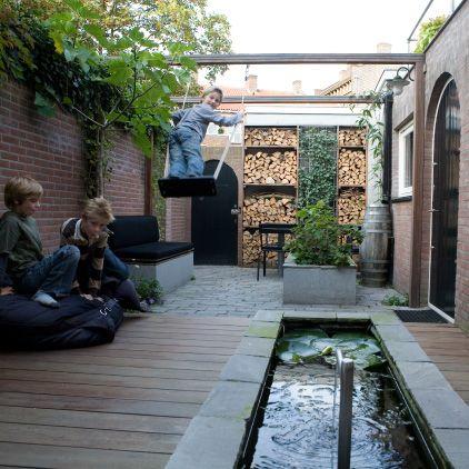 buitenkamer op het noorden, den bosch, 1 « Studio TOOP Tuinarchitectuur