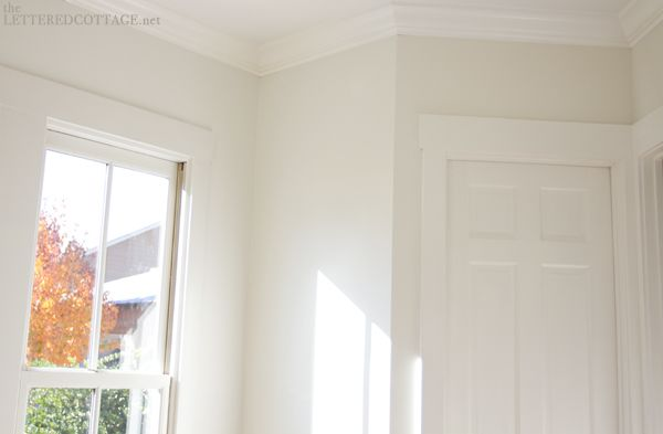 we settled on a Benjamin Moore color called Cloud …