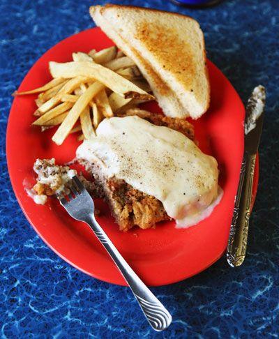 Chicken Fried Steak Recipe - Saveur.com