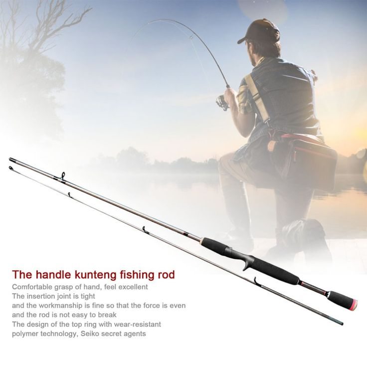 Robust Fishing Sea Rod Straight Handle Pikestaff Grips Pole Fishing Rod Strong Bearing Capacity Resin Fibre Lure Rod Travel Rod #Affiliate