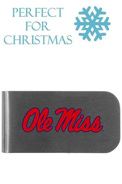 3b962b46238 Mississippi Rebels Logo Bottle Opener Money Clip
