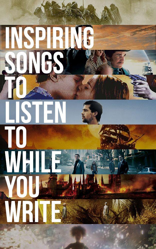 44 Inspiring Songs To Listen To While You Write This #NaNoWriMo