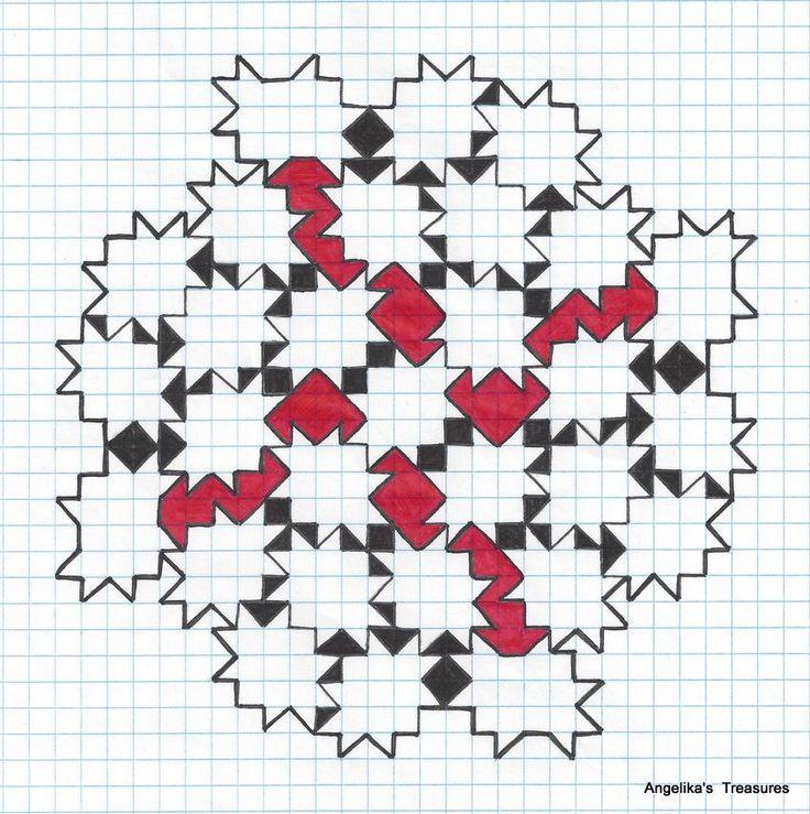 Mejores 17 imágenes de Graph paper en Pinterest | Arte en papel de ...