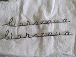 napis na błotniki fso warszawa 223/224 nowe