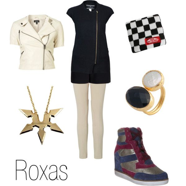 Roxas by ja-vy on Polyvore featuring By Malene Birger, rag & bone, L.K.Bennett, toosis, Vans, Jeffrey Campbell, roxas and kingdom hearts