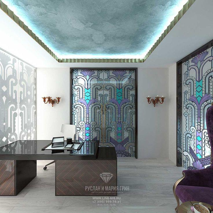 Дизайн кабинета в доме. Фото новинки 2015 http://www.line-mg.ru/dizayn-doma-s-mansardoy-vnutri-foto