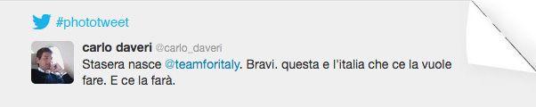 PHOTOTWEET #18  questa è l'Italia che ce la vuole fare, e ce la farà