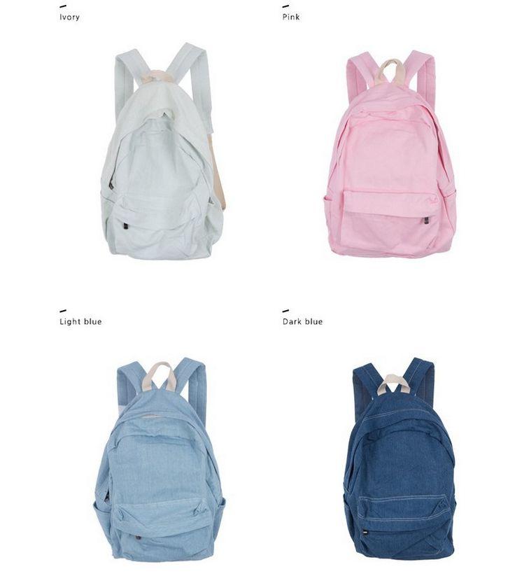 Новый джинсовый рюкзак американский двойной корень джинсы рюкзаки джинсовые школьные сумки для мужчин и женщин сумка подростков простой рюкзак купить на AliExpress
