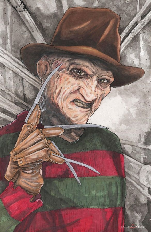 Freddy Krueger A Nightmare on Elm Street by ChrisOzFulton on DeviantArt