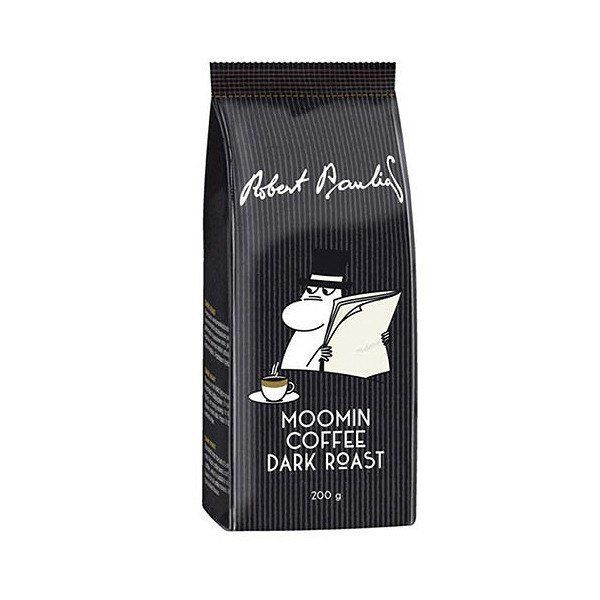 A deep rich dark roasted ground coffee, just like Moominpappa likes it. Roasted from the best of South American and Asian coffee beans, a soft, full-bodied coffee, which is suitable for all dark coffee lovers for all coffee moments. Roasted full-bodied flavour.Stays fresh best in a cool, dry place. Weight: 200 g