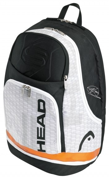 The Head Djokovic Backpack 2013, has enough space for up to two racquets and plenty of compartments for all of your equipment.  $99.95