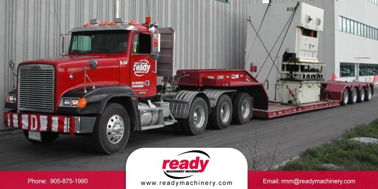 Safe transportation of your heavy machinery in Ontario means more than the equipment arriving in good working order. It means it safely passes through each town, city, municipality, or province. It ensures the safety of others on the road, including your transportation team. Call us at 1-800-211-2500 and let Ready Machinery & Equipment help you plan and transport your heavy machinery.