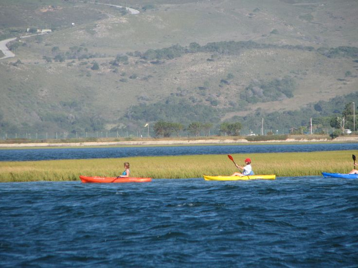 Enjoy leisurely kayaking in the Knysna lagoon... just messing about on the water :)