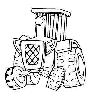 Un tracteur.