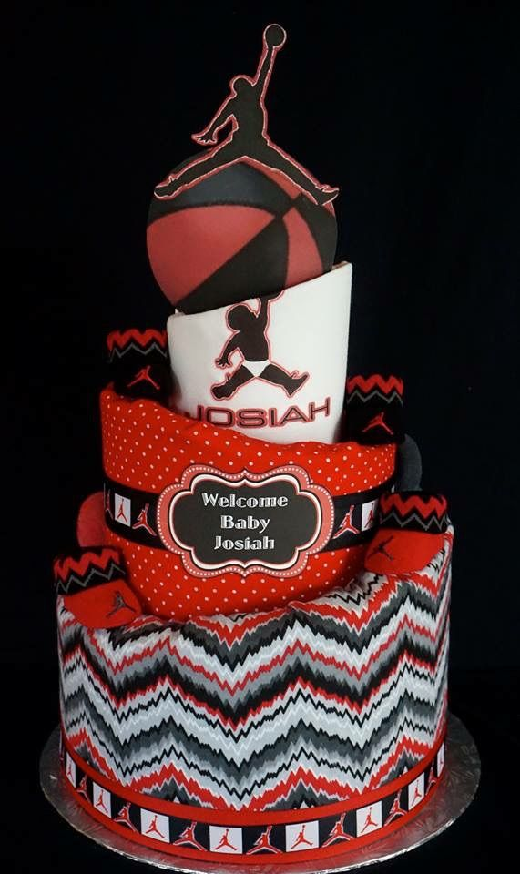 Jordan Baby Gift Baskets : Best prince diaper cake images on