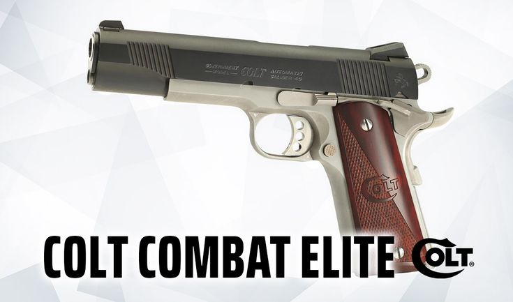 What's the best 1911 .45 ACP out there? We review the classic Colt Combat Elite pistol and reveal where to buy it at the best price. #colt #combat #elite #pistol #firearms #SemiAuto #selfdefence #45acp #1911 #ccw #concealedcarry