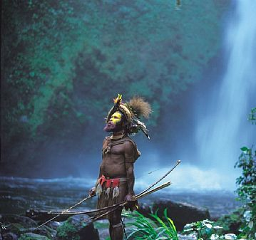 Papua, New Guinea - One of the most isolated places in the world --- also one of the most peaceful :)
