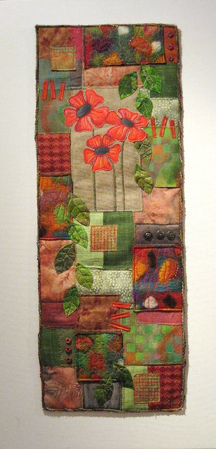 Poppy patchwork