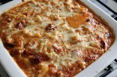 Slimming world chorizo Mac n cheese