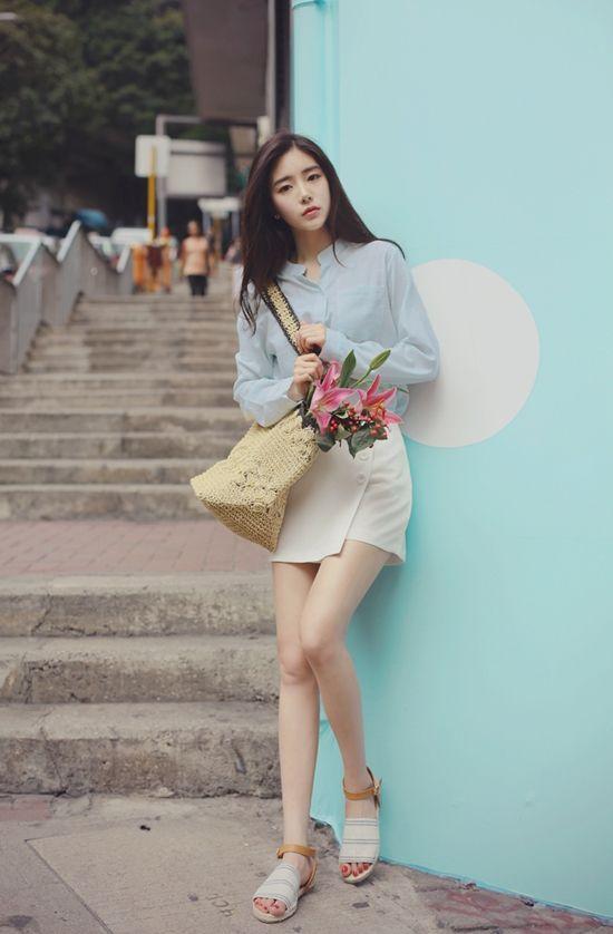 1000 Ideas About Korean Girl Fashion On Pinterest Korean Girl Korean Women And Orange Blouse