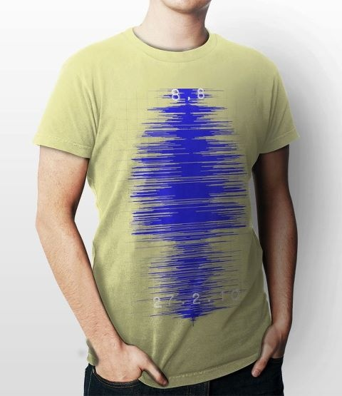 Commemorative T shirt , 27.2.2010 Earthquake Chile.