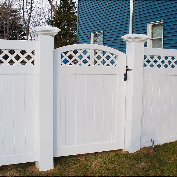 fencing on pinterest white fence white vinyl fence and backyard