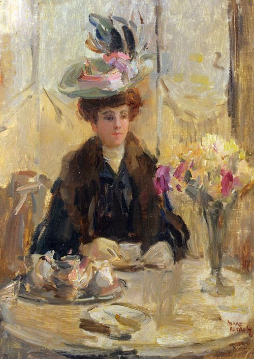 The Expensive Hat - Isaac Israels 1905