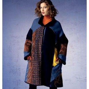 Vogue Patroon Mantel ontwerp van KOOS van den Akker