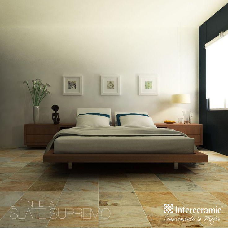 El piso de mosaico y piedra que ofrece la l nea slate for Interceramic pisos
