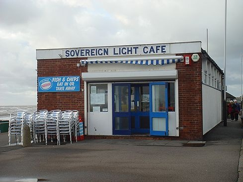 Sovereign Light Cafe- England. Keane has a song about it- I simply have to see it in person.