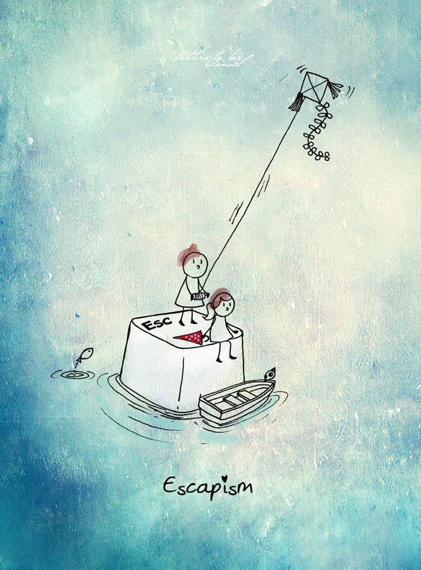 Unposted Letters - 'Escapism'