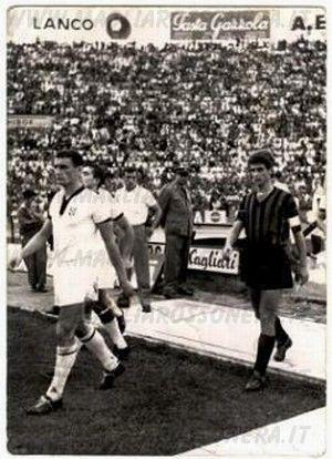 Stagione 1966-67 Riva e Rivera in campo