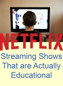 Netflix Streaming Shows That are *Actually* Educational: A list of shows and movies you can use for your homeschool -  {PileofPates.com}