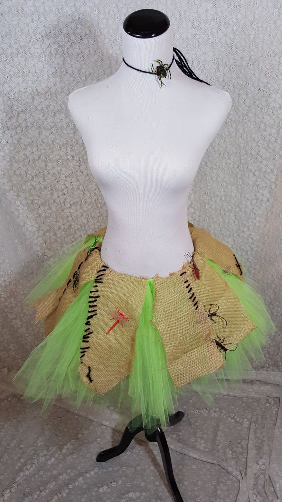 Creepy Crawly Tutu Set ADULT Oogie Boogie by pearlsandtulle