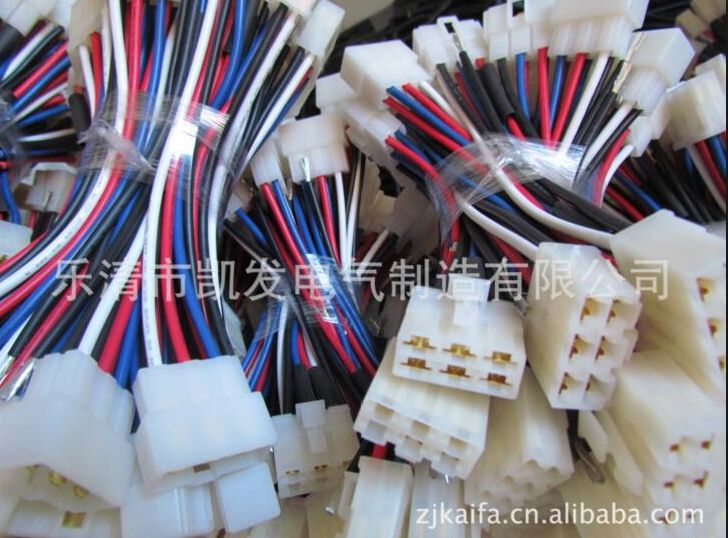 Wire connectors in union jack colourway