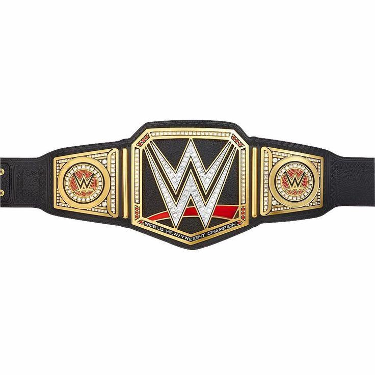WWE World Heavyweight Championship Replica Title Belt W/ Metal Plates (2014) - http://bestsellerlist.co.uk/wwe-world-heavyweight-championship-replica-title-belt-w-metal-plates-2014/