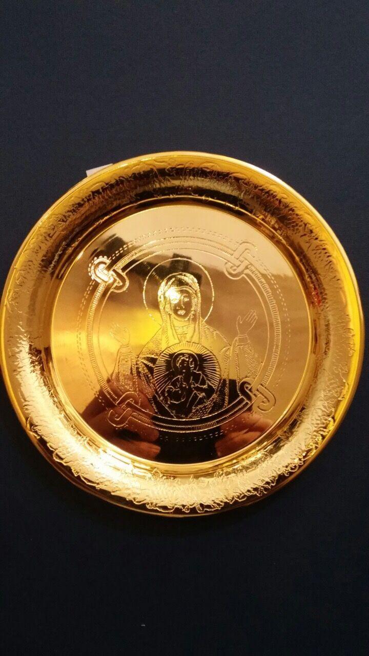 Holy Communion Disc Artoclasia Proskomidia @nioras.com