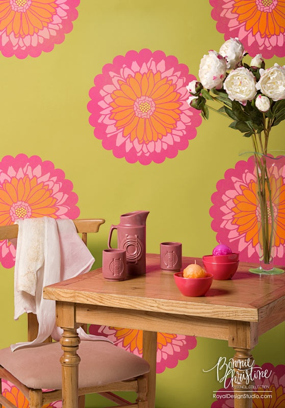 The 52 best Designer Stencils: Bonnie Christine images on Pinterest ...