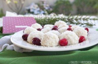frozen yogurt truffles