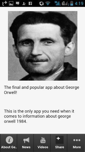 Information on george orwell