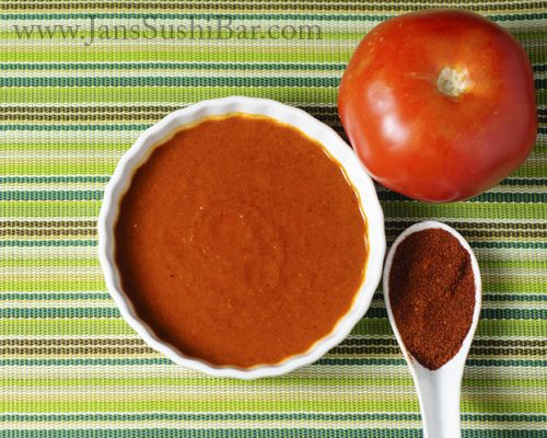 Enchilada Sauce.  So simple and delicious, you will never buy the stuff in the can again.