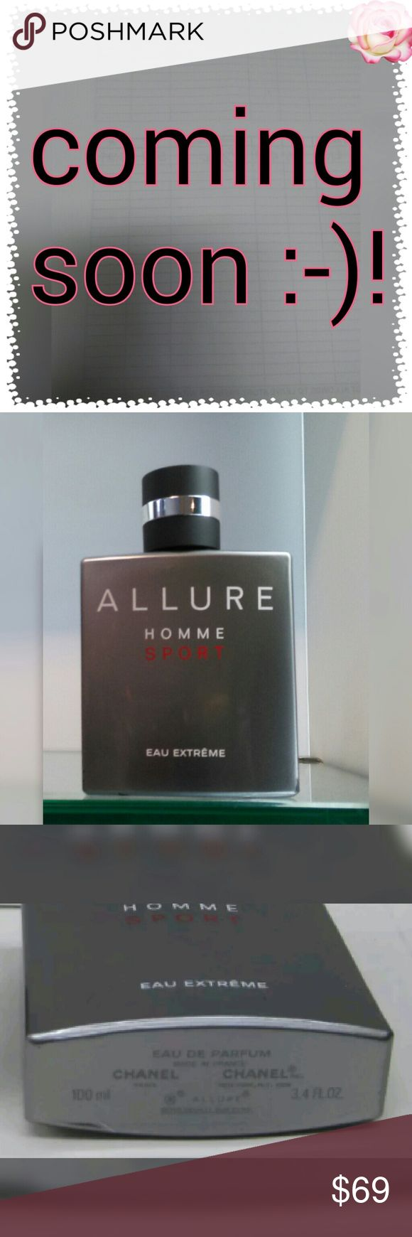 Chanel Allure Homme Sport extreme That is a brand new Allure Homme Sport Eau Extreme by Chanel 100ml.? That is never been used before.?  ((((Tester No Box Made In France))) CHANEL Other