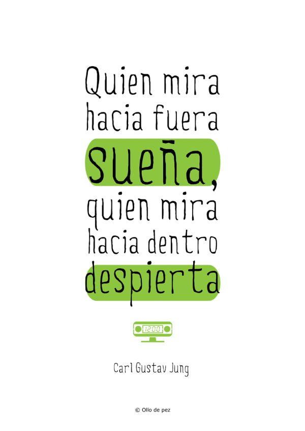Quien mira hacia fuera sueña, quien mira hacia adentro despierta. #frases #antonioyteresa http://antonioyteresaempower.com/pin